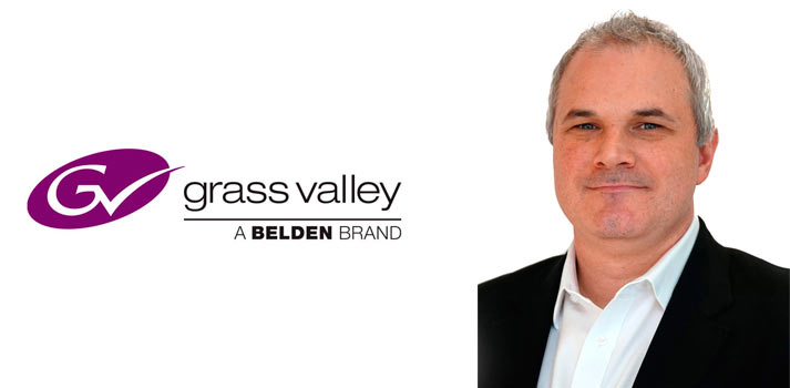 Tim Shoulders, president of Grass Valley