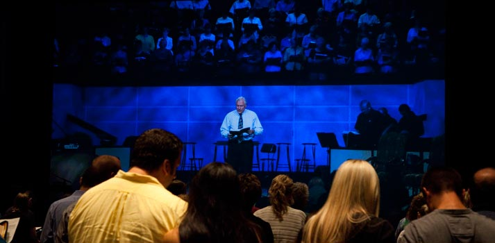 Green Acres church event broadcasted worldwide with AJA equipment