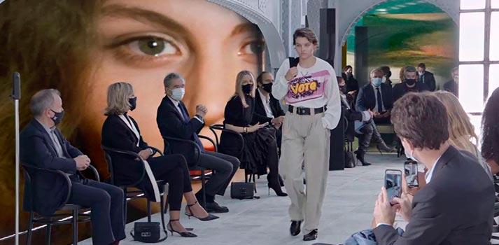 Zero Density parade with Louis Vuitton