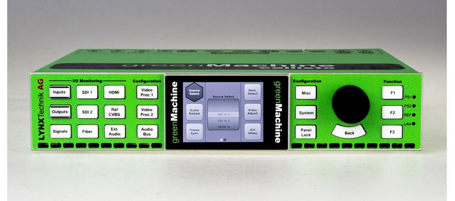 GreenMachine, broadcast