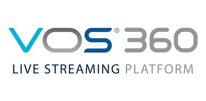 Logo of Harmonic's VOS 360 platform