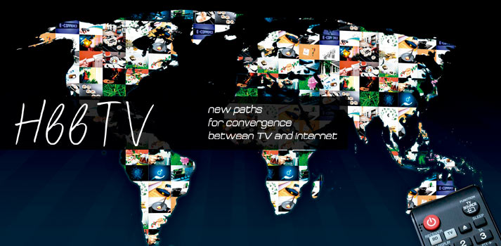 HbbTV introduction of article TM Broadcast worldmap with TV contents