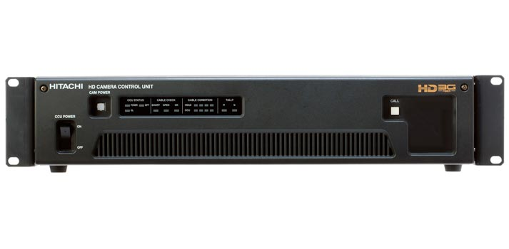 Front view of the CU-HD550 camera control unit which will receive new features at NAB Show 2020