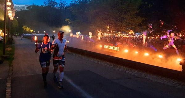 ING Night Marathon Luxemburg runners