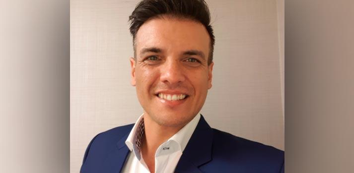 Portrait of JP Delport, new Managing Director at Broadcast Solutions UK