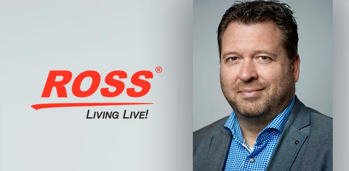 Leonard Ariens, head of NewBizz, new Ross Video Partner