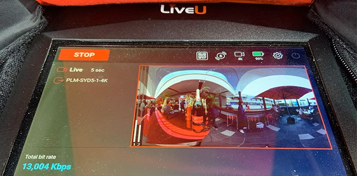 LiveU provides live streaming and remote production solution for the Australian Open