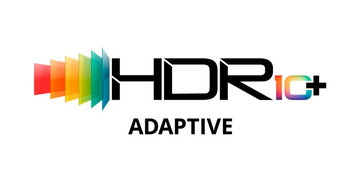 Logo of HDR10+ Adaptive feature -