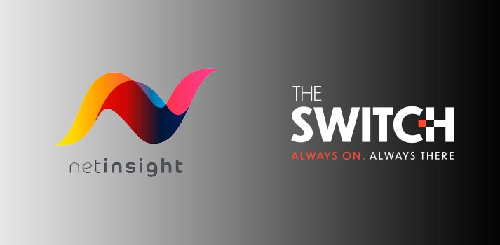 Logos of Net Insight and The Switch