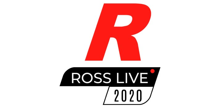 Logo of Ross Live 2020 event by Ross Video
