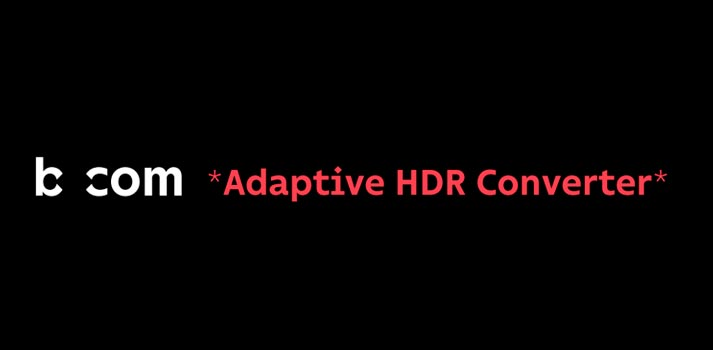 Logo of Bcom Adaptive HDR converter solution