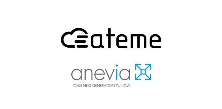 Logo de Ateme and Anevia