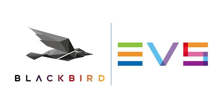 Logos of Blackbird and EVS