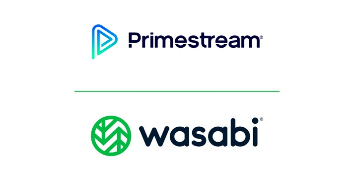 Logos of Primestream and Wasabi