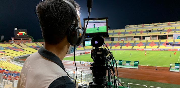 Malaysian cameraman from Ideal Systems
