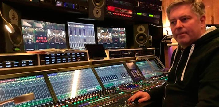 Martin Gamperl, sound engineer, TV productions for ORF tested the Austrian Audio microphones