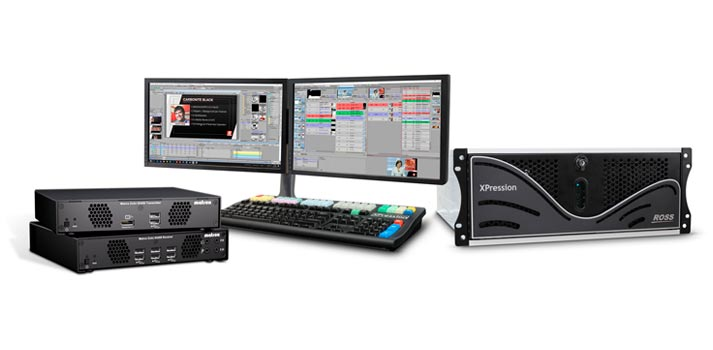 XPression by Ross Video with Matrox Extio 3