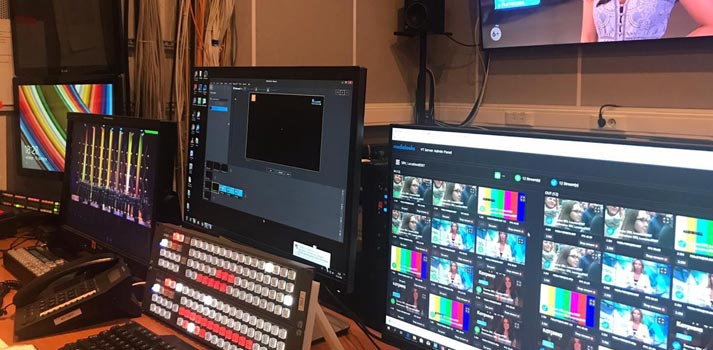 VT Server by Medialooks, a software-based solution, at Saint Petersburg TV