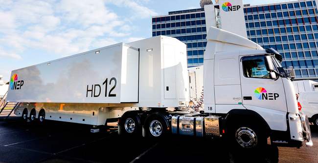 EVS made possible this NEP's OB Truck with its technology