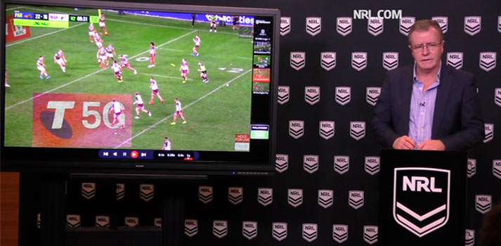 Quicklink technology deployed at the NRL website coverage