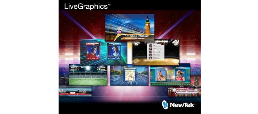 NewTek, LiveGraphics, magazine broadcast