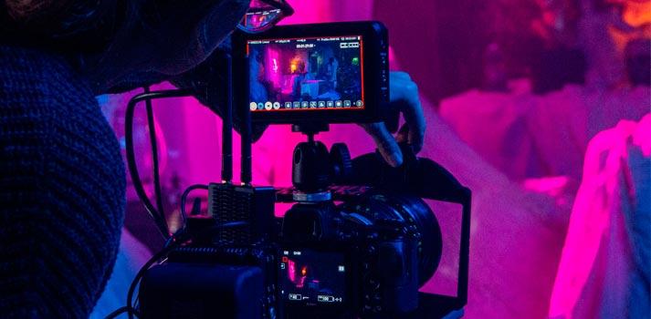 Nikon Z 6 camera with the Atomos Ninja V recording device