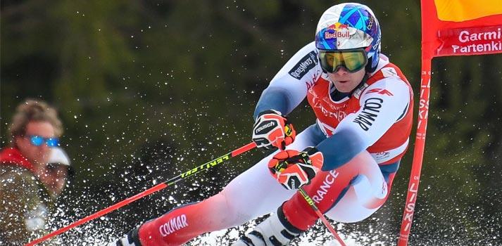 Ski transmission at Outdoor Sport Channel