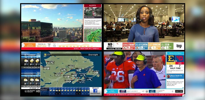 Broadcasters deploying Ipsum 2 platform