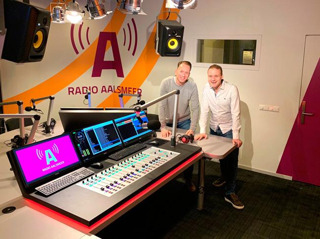 Lawo equipment deployed at Radio Aalsmeer