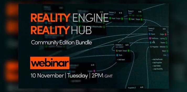 Webinar about Reality Engine and Reality Hub