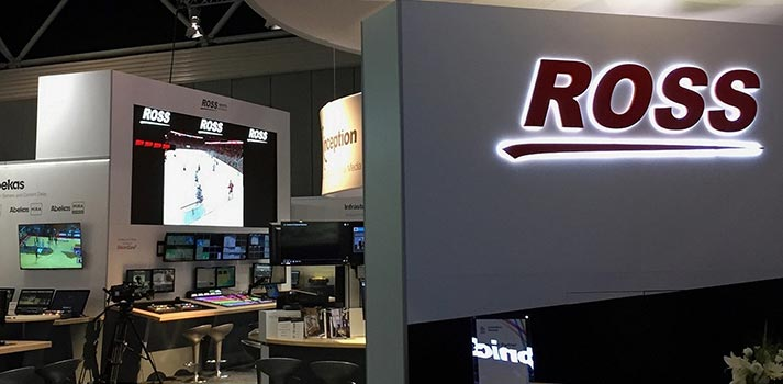 Booth of Ross Video at IBC 2019