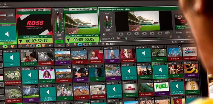 Kiva live presentation server by Ross Video
