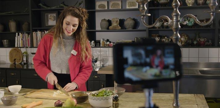 Sennheiser's Memory Mic on a gastronomy TV format