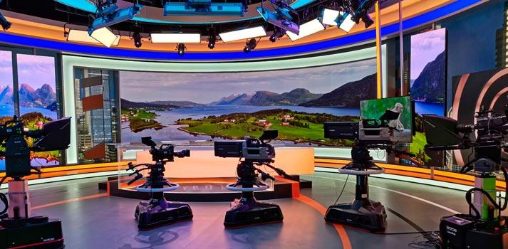 Shotoku Camera Systems at Hunan TV new news studio