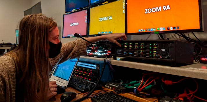Show Imaging virtual production - Control room