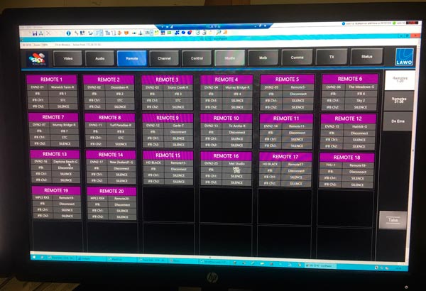 Lawo has developed the VSM system of Sky Racing Australia