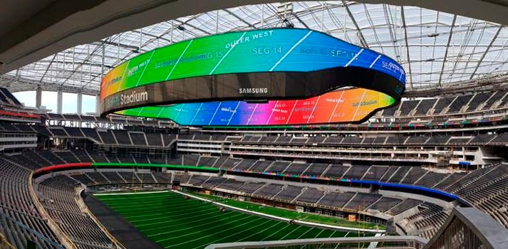 New 4K videowall by Samsung