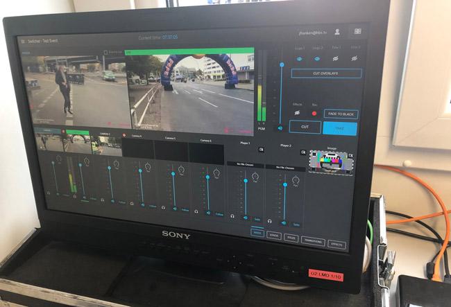 Berlin marathon with a wireless workflow of Sony