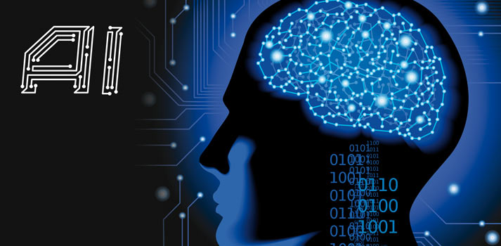 Brain and technology in a stock image picturingAI