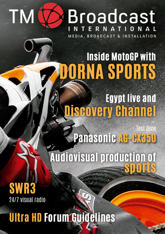 Front cover of TM Broadcast International 70