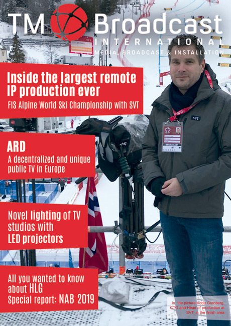 Cover of TM Broadcast International 69
