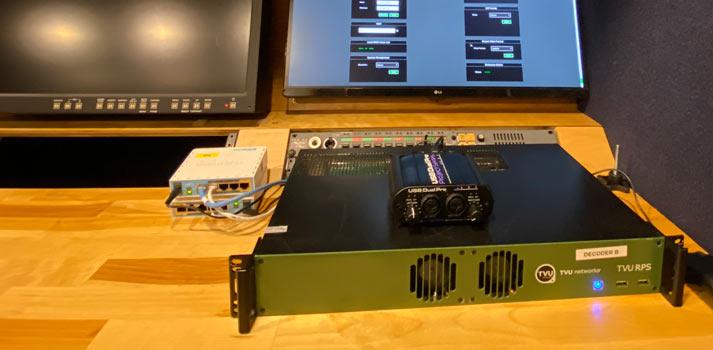 Rack unit of TVU's RPS