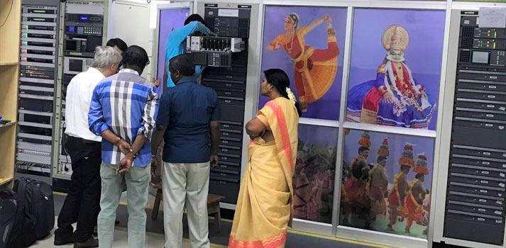 GatesAir transmitters deployed at Doordarshan (India) facilities