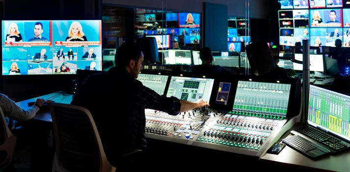 Turkuvaz Media Group control room with Lawo Solutions