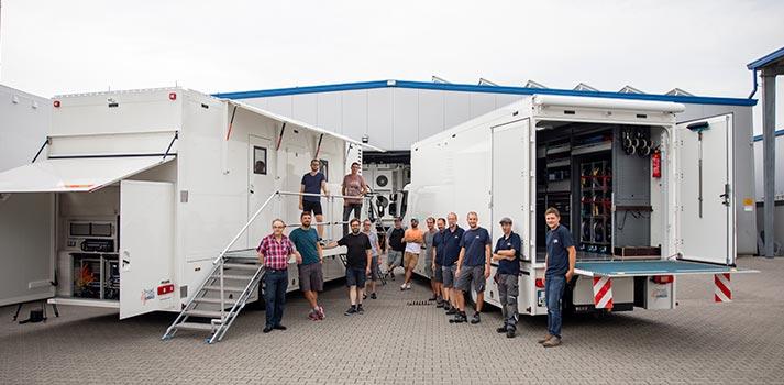 Ü3 OB Van designed by Broadcast Solutions