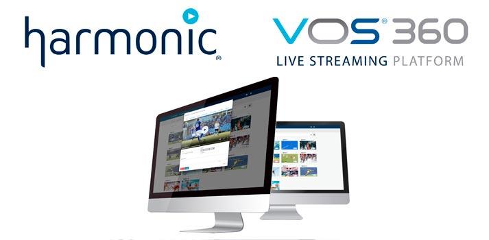 Harmonic VOS360 platform for live streaming