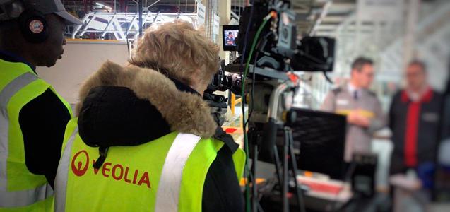 Camera operators deploying the Quicklink Studio solution