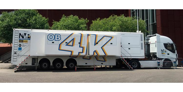 Video progetti developed OB Truck for NVP