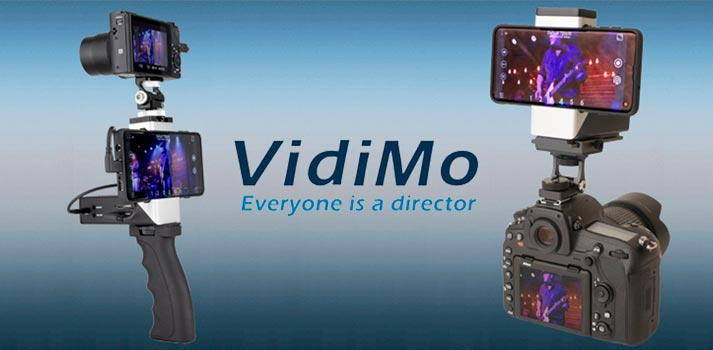 VidiMo by StreamGear live video production solution