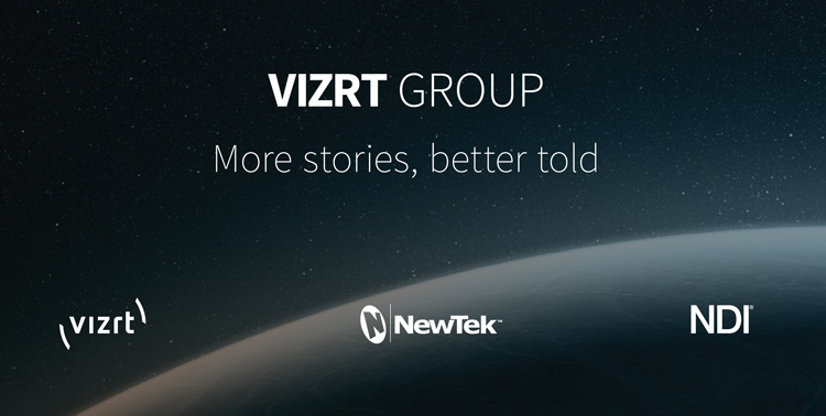 Official presentation of the Vizrt Group, which comprises Vizrt, NewTek and NDI